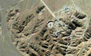 Fig. 2 Recent satellite imagery of the suspected new nuclear site near Qom.