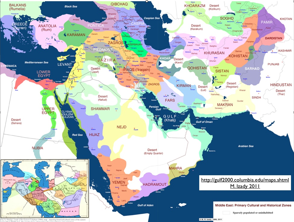 Middle East Map Blank My blog